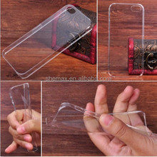 Ultra Slim Transparent Acrylic Case Cover for iPhone 5/5s/5c, Soft Crystal Case Cover for iPhone5/5s/5c