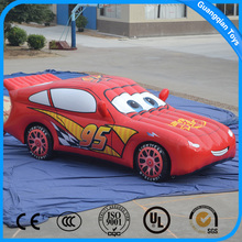 Newest High Quality Advertising Inflatable Cartoon Car Models for Kids