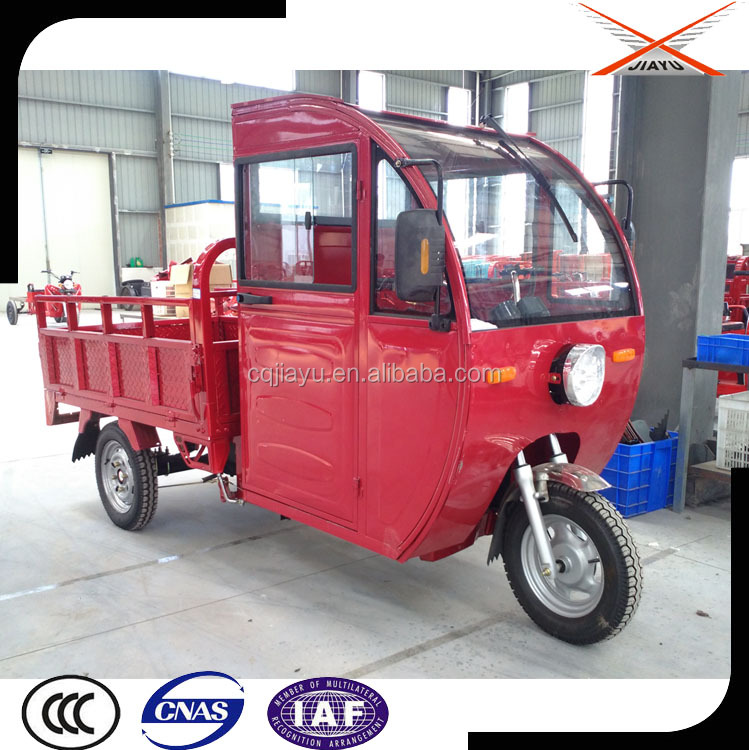 New Tricycle Closed Cabin, Motorized Tricycle Bike for Sale