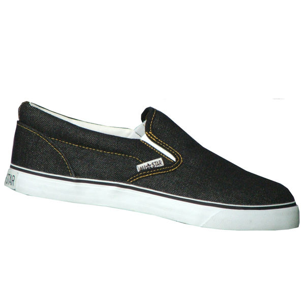 New Court shoes jeans Slip-on (Black)