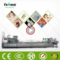 high quality medical cotton swab making machine with drying and packing