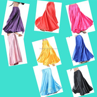 BestDance 9 kinds colour Swing Belly Dance Costumes Satin Flamenco Dress