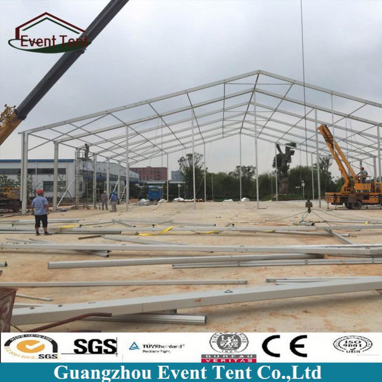 Large aluminum frame tent canopy, used clear span tent for sale