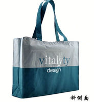 polyester luggage bag/ polyester conference bag 600d polyester shoulder bag
