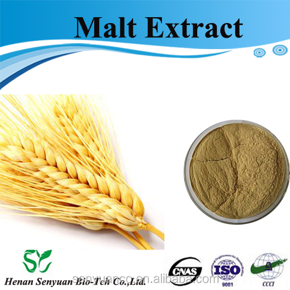 Top Quality Food Grade Plant Extract Malt Extract Powder