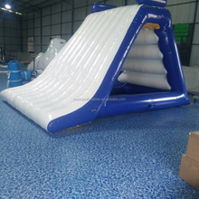 hot sales giant exacting inflatable water floating slide for adults and kids