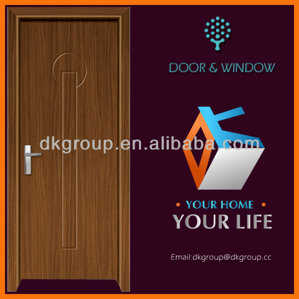 PROFESSIONAL DOOR FACTORY wooden door with pvc coating