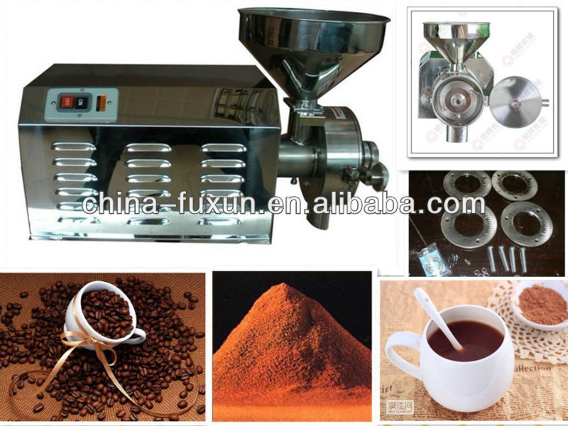 NEWLY 304 Stainless steel cacao grinding machine/coffee bean grinding machine/cocoa grinding machine