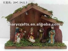 Polyresin Jesus christ,resin nativity set statue