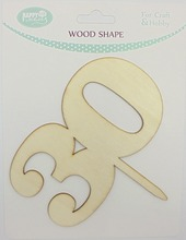 Numbers shape laser cut wood shape wholesale unfinished wood for craft