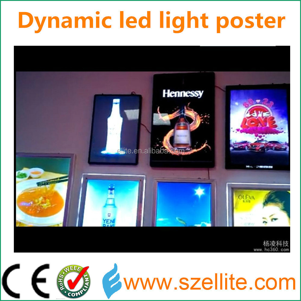 2015 innovative animated slim paper advertising product