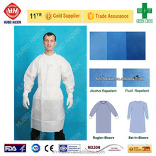 AAMI Level 2/3 Isolation Cover Gown