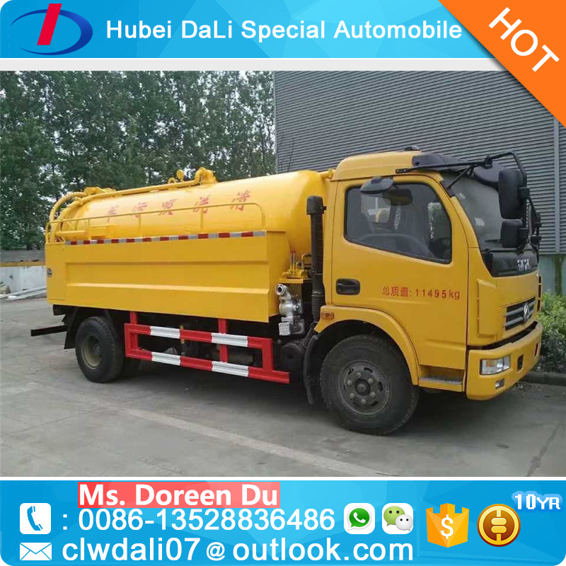 Low price 3250 liters drain pipe cleaner truck for sale