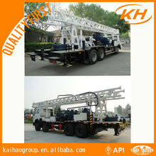 350ZYII 350 Meter depth truck mounted water well drilling rig
