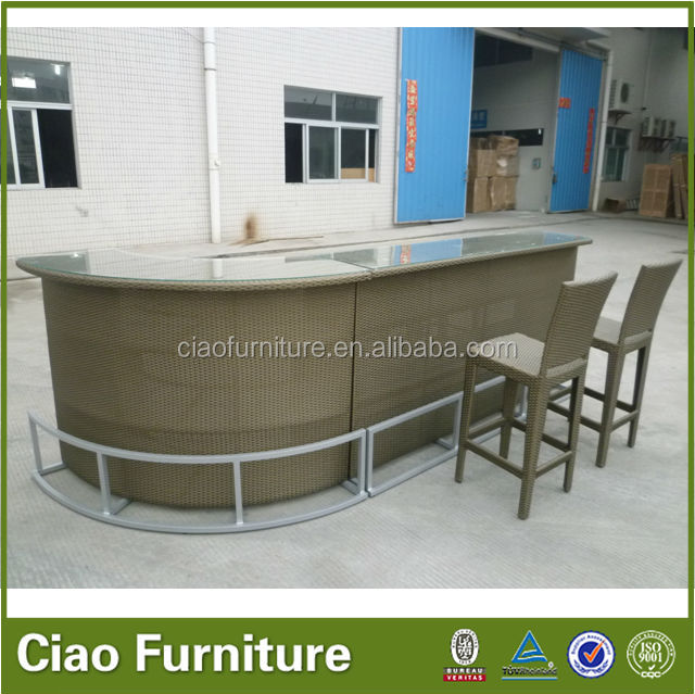 rattan stehtisch set outdoor stehtisch set garten bar tisch und stuhl rattan korbsofa produkt. Black Bedroom Furniture Sets. Home Design Ideas