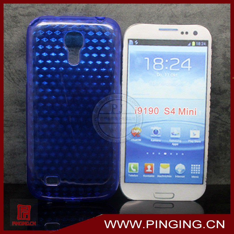 [i9190 case]Hot selling TPU case for samsung s4 mini case