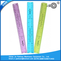XWR-6059 Color 12 Inch 30CM Flexible Ruler Soft Ruler Plastic Straight Ruler In China