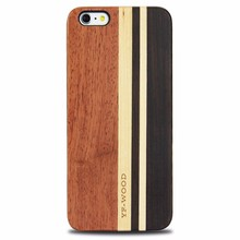 OEM factory mobile accessories wholesale wooden cell phone case for iphone 6 , 6s , 6plus