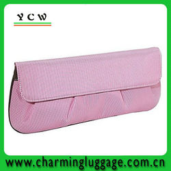 envelope clutch bag with stripe /evening clutch bags