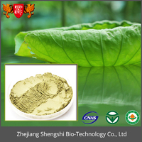 Fresh lotus leaf extract powder