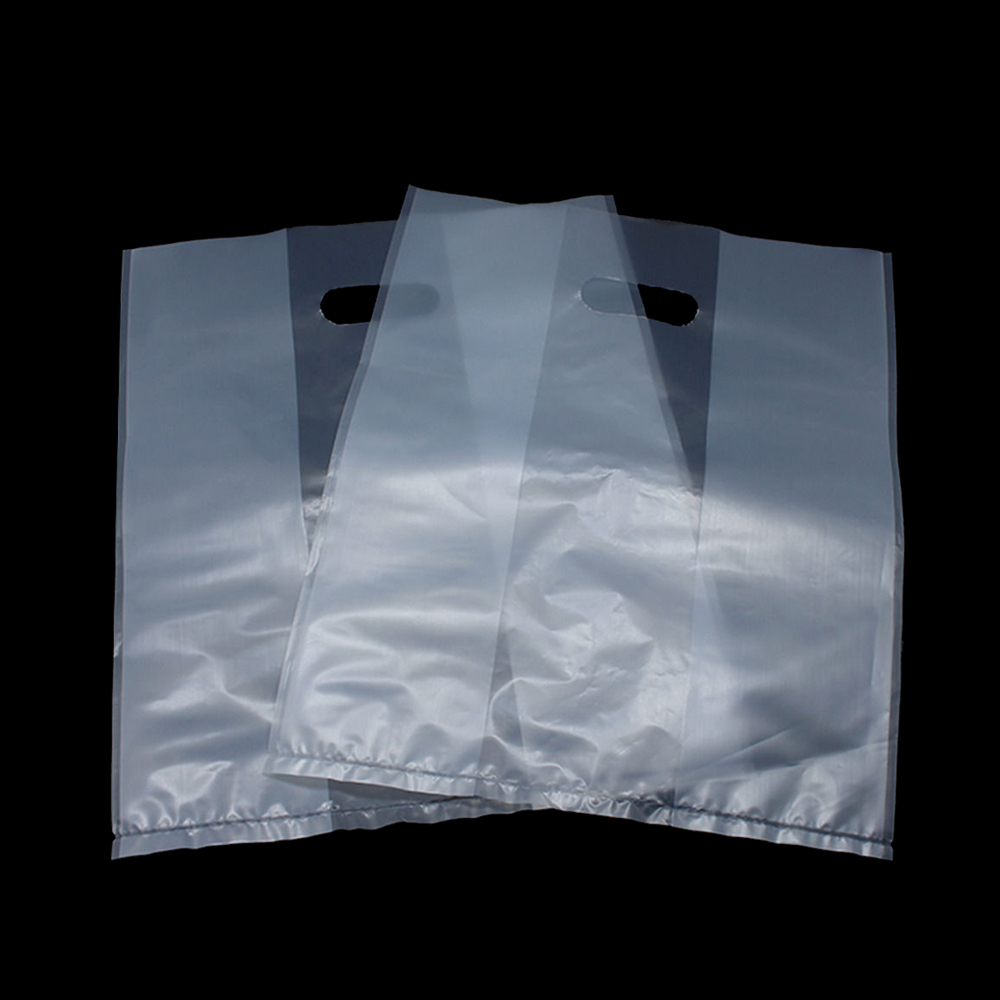 Jewelry Package Plastic Die Cut Bag