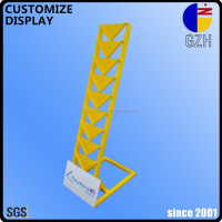 steel standing display rack for tile / floor board / quartz stone