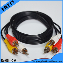 fast delivery audio video cable rca