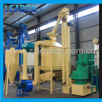 1t Complete turn-key biomass wood pellet plant for sale