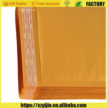Secure and convenient self-seal closure kraft paper bubble envelopes,postage for padded envelope,cheapest envelopes
