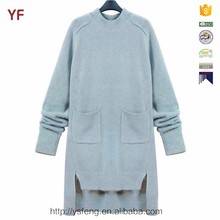 Euramerican Style Mint Green Woolen Clothes Designs for Ladies