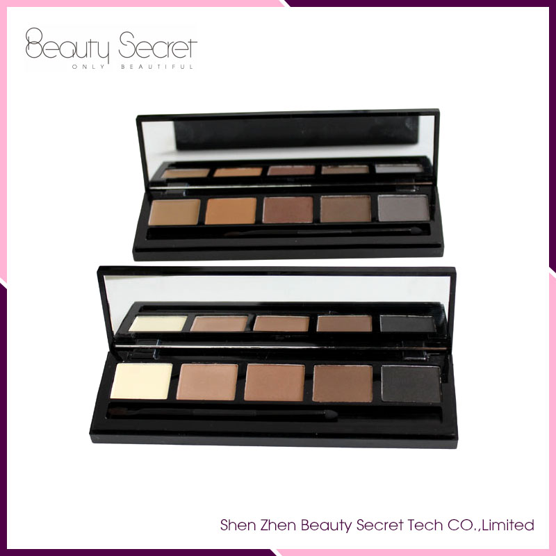 Wholesale Make Up Private Label Eyebrow Powder 5 Colors Eyebrow Powder Palette