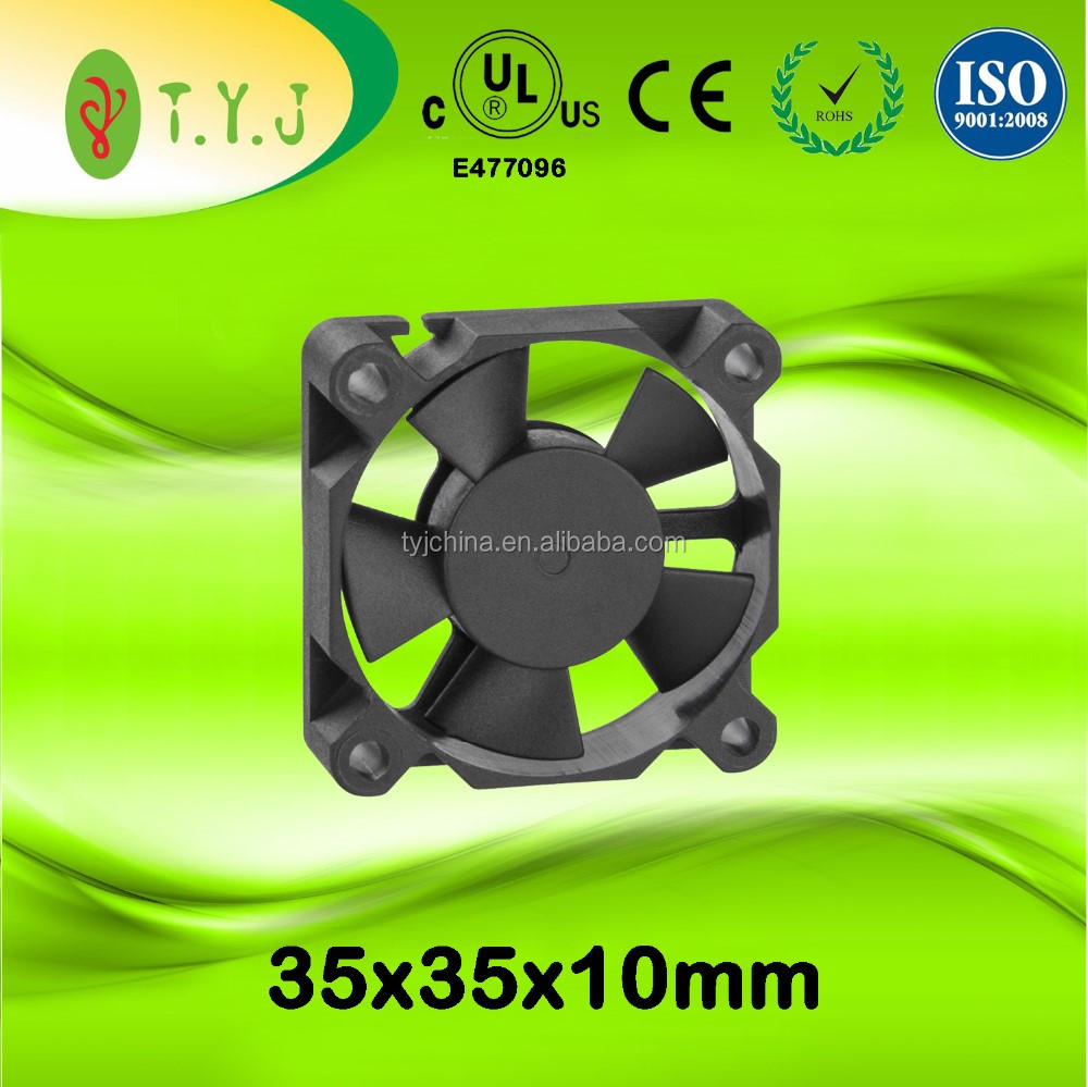 5v 35x35x10mm 5000rpm dc brushless cooling fans