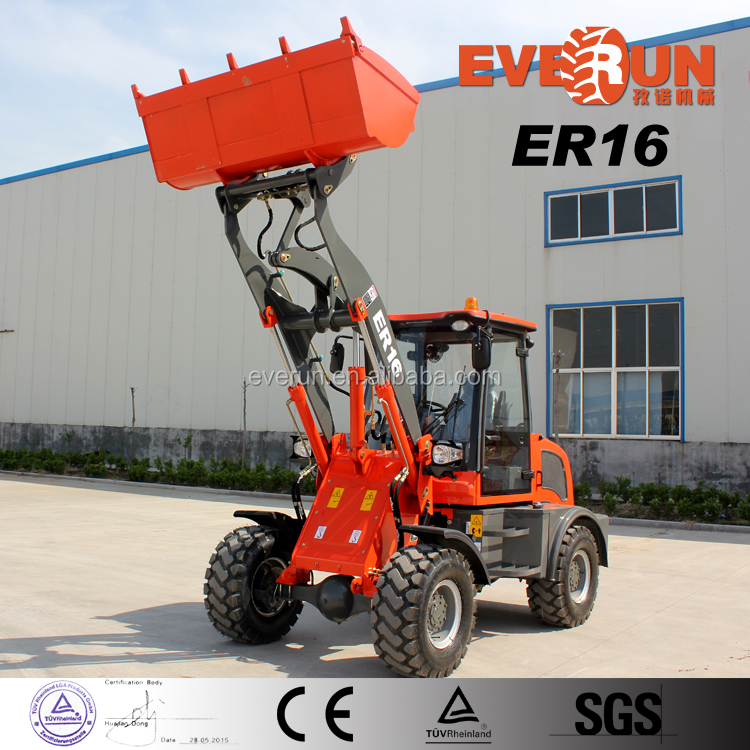 ER16 Construction Wheel Loader with Snow Blower/EPA Enigne for Sale