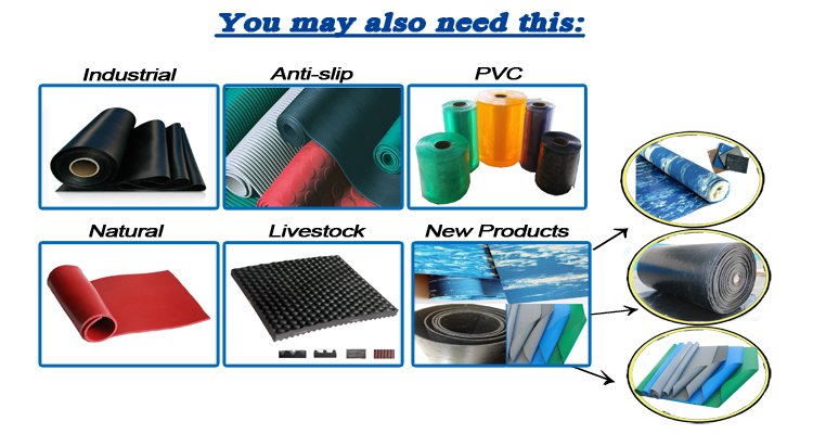 Industrial Vulcanized Rubber Sheets Pieces/Pads In 1mx1m or Customized Sizes