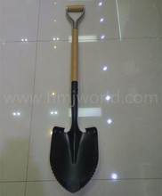 Agricultural shovel spade for field work
