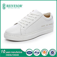 2016 spring new design women single shoes casual women Sneakers Leather skateboard shoes