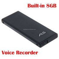 Stylish Portable 701 Mini 8GB USB Digital Voice Recorder WAV Recording Format