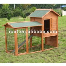 Large Outdoor 7FT Wooden Poultry Cage with Plastic tray