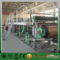 High efficiency cultural paper making machine/note book machiney printing paper making equipment