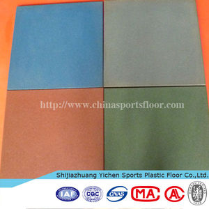 rubber mat outdoor basketball court gym flooring used