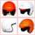 FIA8858-2010 approved fiberglass SAH2010 safety helmet / fia helmet (COMPOSITE)