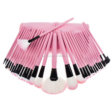 New Retail Pink Black Colors Makeup Brushes Beauty Accessories 32pcs per Set No Logo Handle Make Up Brushes Kit