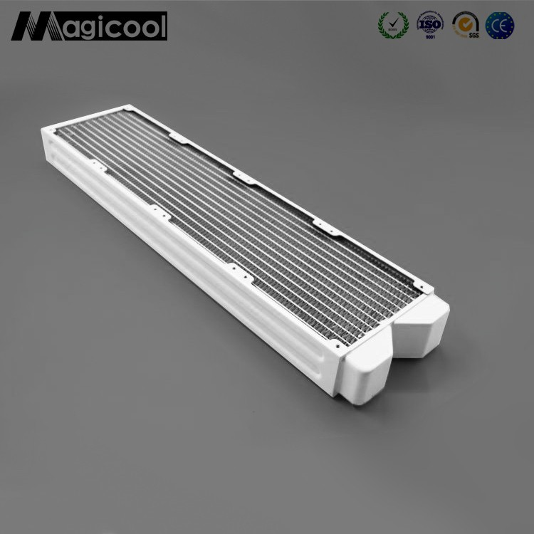 New products,white Copper Radiator for computer 45mm thickness 480mm length