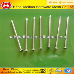 2014 hot sell high quality hardened steel concrete nails (ISO 9001 factory)
