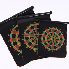 Two - sided magnetic dartboard indoor sport safety game magnet safety dartboard