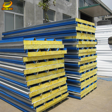 low cost prefab house fire rated sandwich panel