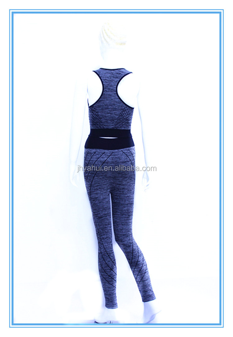 Sexy sport bra and legging sport yoga wear set