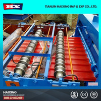 HX850 tile roll forming machine prices/ china supplier