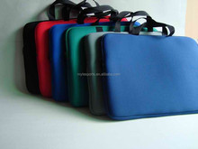 Custom Neoprene 18 inch laptop sleeve with Handle