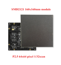2017 Indoor P2.5 Full Color RGB LED Display Module 160*160mm